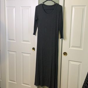 *ANNABELLE SLIT RIBBED DRESS*